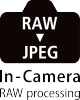 RAW & JPEG In-Camera Processing